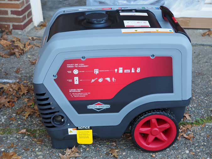 Home backup power with the Briggs & Stratton QuietPower Q6500