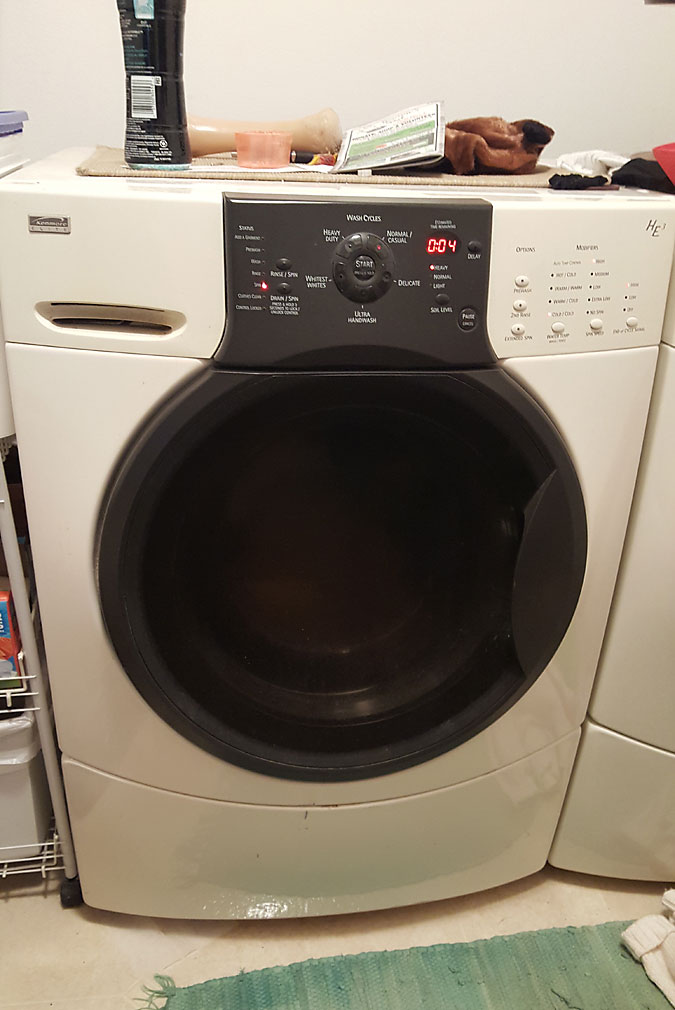 I Have A Kenmore Elite He3 That We Purchased From Sears Scratch And Dent Back In 2003 The Machine Is Located On Our Main Floor